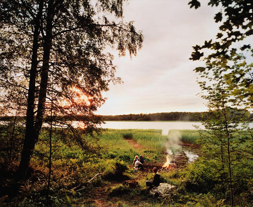 <p><strong>Elina Brotherus: <em>Landscapes and escapes I</em></strong><br /> 1998, 109x134cm, kromogeeninen värivedos<br /> Suomen Valokuvataiteen museo<br /> Kuva: Virve Laustela / Suomen valokuvataiteen museo</p>