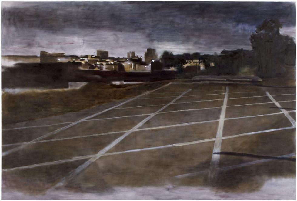 <strong>Thomas Nyqvist: <em>Plan III</em></strong><br /> 2010, 175 x 262 cm, öljy kankaalle.<br /> Kuva: Jussi Tiainen.